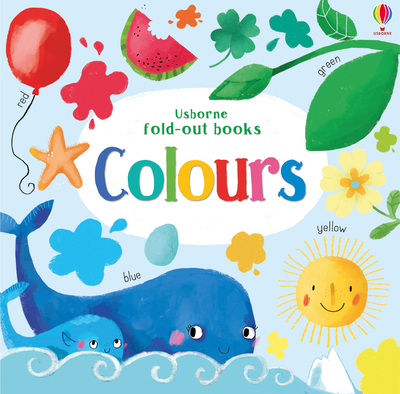 Picture of Colours Usborne Fold Out Books