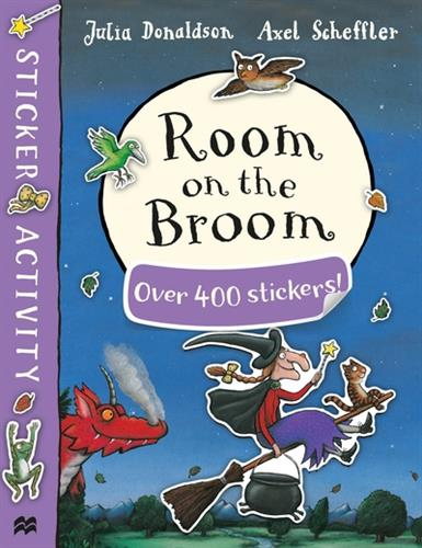 Picture of Room On The Broom Sticker Book