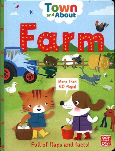 Picture of Town And About Farm Board Book