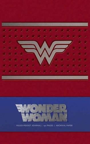 Picture of Wonder Woman Ruled Pocket Journal