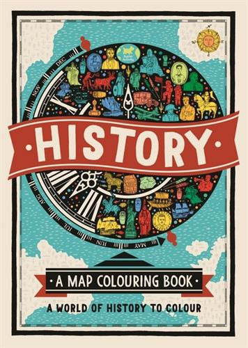Picture of History A Colouring Map