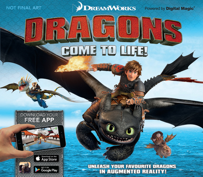 Picture of DreamWorks Dragons Come To Life