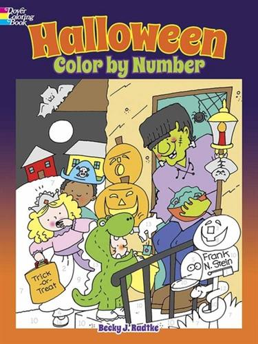 Picture of Halloween Color By Number