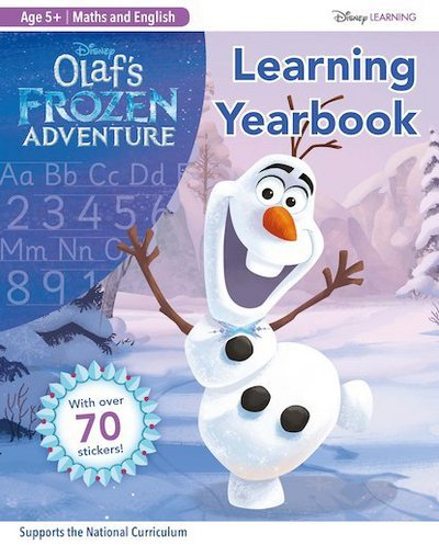 Picture of Olafs Frozen Adventure Learning Yearbook