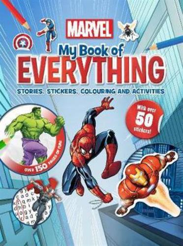 Picture of My Book of Everything  Marvel