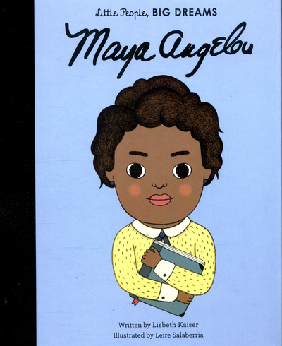 Picture of Little People Big Dreams Maya Angelou
