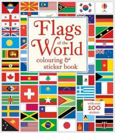 Picture of Flags Of The World Colouring & Sticker Book