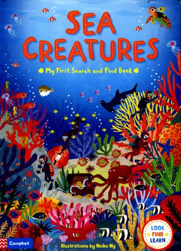 Picture of Sea Creatures Board Book