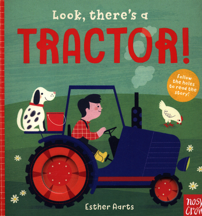 Picture of Look Theres A Tractor Board Book