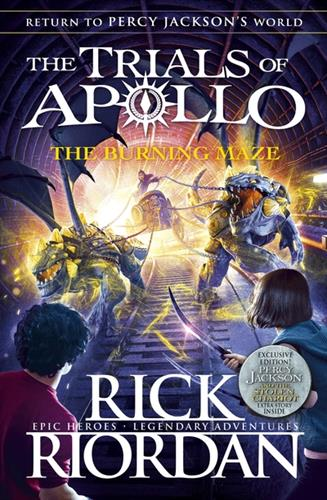 Picture of Burning Maze (The Trials of Apollo Book 3)
