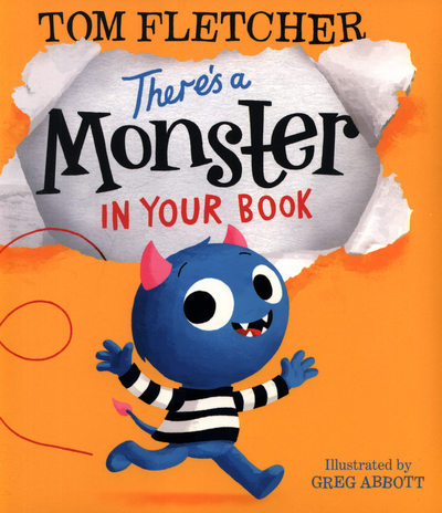 Picture of Theres A Monster In Your Book