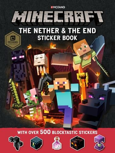 Picture of Minecraft Nether & The End Sticker Book