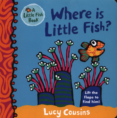 Picture of Where Is Little Fish Board Book
