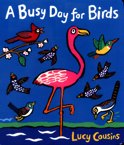 Picture of A Busy Day For Birds Board Book