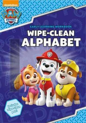 Picture of Paw Patrol Wipe Clean Alphabet