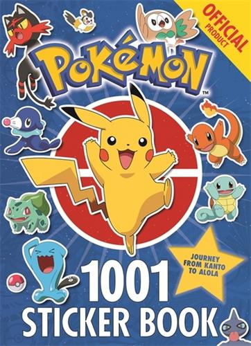 Picture of Official Pokémon 1001 Stickers