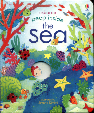 Picture of Peep Inside The Sea Board Book