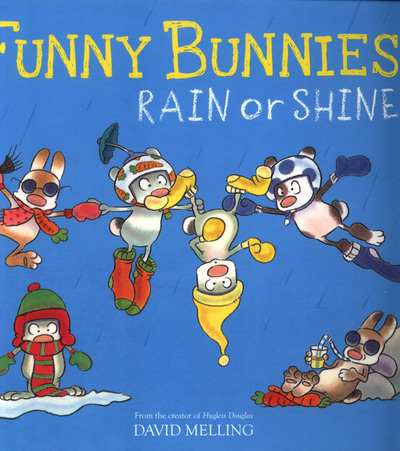 Picture of Funny Bunnies Rain Or Shine