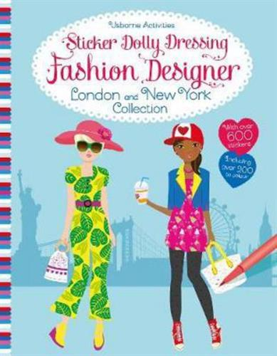 Picture of Sticker Dolly Dressing Fashion Designer London And New York