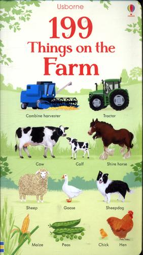 Picture of 199 Things On The Farm Board Book