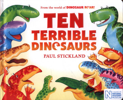 Picture of Ten Terrible Dinosaurs Board Book
