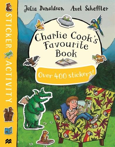 Picture of Charlie Cooks Favourite Book Sticker Book