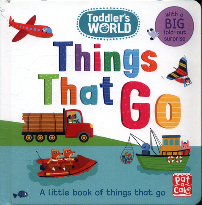 Picture of Toddlers World Things That Go