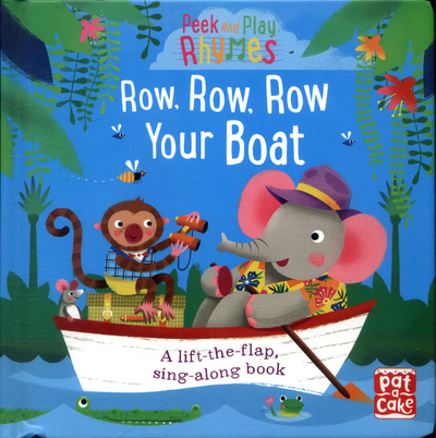 Picture of Peek and Play Rhymes  Row  Row  Row Your Boat Board Book
