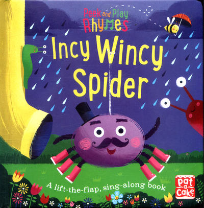 Picture of Peek and Play Rhymes Incy Wincy Spider Board Book