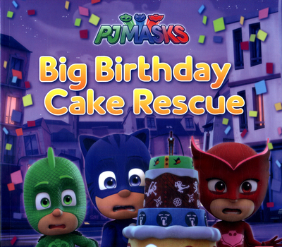 Picture of PJ Masks Catboys Big Birthday Cake Rescue