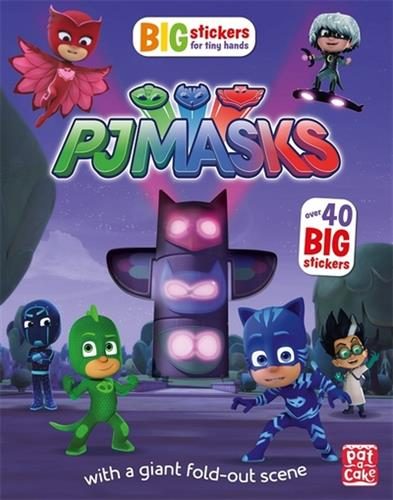 Picture of PJ Masks Big Stickers For Tiny Hands