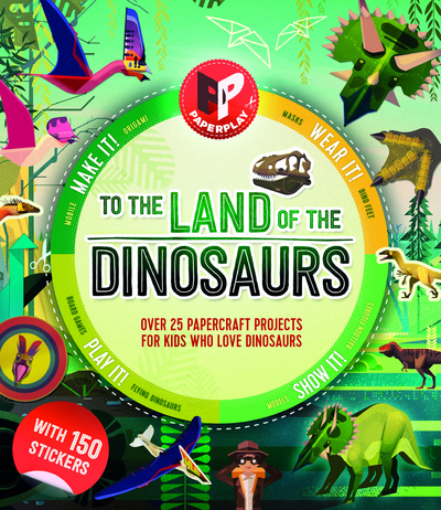 Picture of Paperplay To The Land Of The Dinosaurs