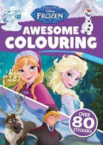 Picture of Frozen Awesome Colouring