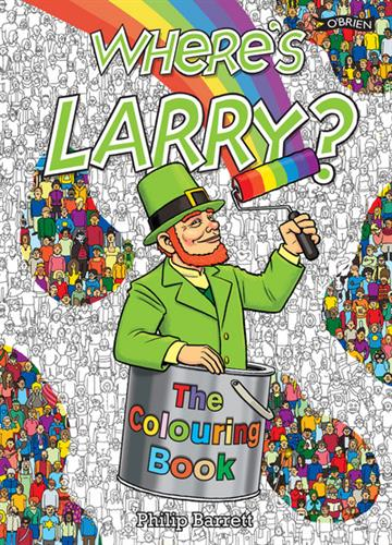 Picture of Wheres Larry The Colouring Book