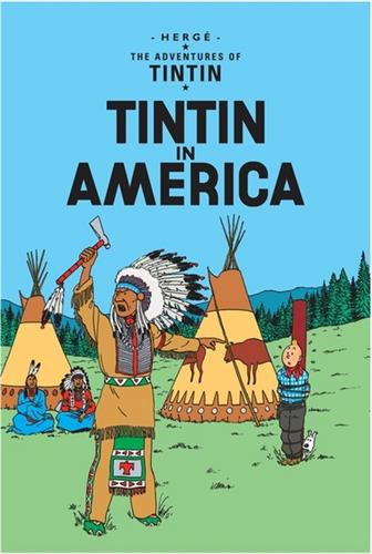 Picture of Tintin in America