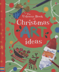 Picture of The Usborne Book of Christmas Art Ideas